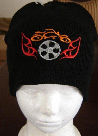 Black Orange County Choppers Beanie Ski Hat