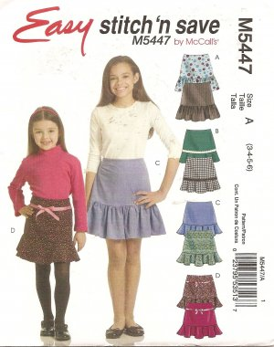 Sewing Patterns for Girls Dresses and Skirts: Easy Peasy Summer