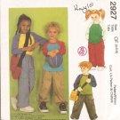 Childrens Top, Pants and Bag size 4, 5, 6 Uncut McCalls 2927