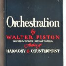 Orchestration (Hardcover) By: Walter Piston