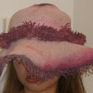 GORGEOUS straw hat perfect for the summer sun!