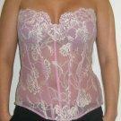 Emanuel Ungaro Paris couture lace corset / bustier