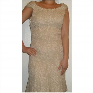 Moschino BRAND NEW Gorgeous COUTURE wool and silk dress