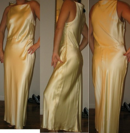 Vera Wang $1770 NWT Full-Length Gown from BARNEYS