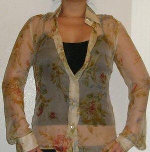 Dolce & Gabbana gorgeous silk floral blouse, 40