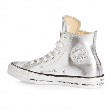 Converse Chuck Taylor Chrome Hi Round Toe LEATHER