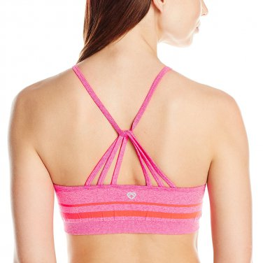 Colosseum Women's Striped Seamless athletic bra