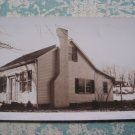 Small House Home Exterior 1930s Vintage Snapshot Photo