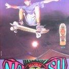 PURE SIMS HELL Eric Nash Skateboard Deck Photo Print Ad
