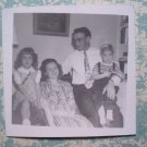 1940s PHOTO of STINES FAMILY Cute Boy Girl Husband Wife