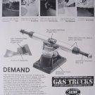 G&S Gordon and Smith Skateboard Truck Magazine Print Ad