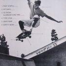 SCHMITT STIX Andy Powell Rip Saw Skateboard Print Ad 88