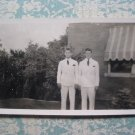 1930s Photo Handsome Young Men White Suits IDENTIFIED