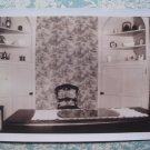 1930s Vintage Photo House Interior Kitchen Table Chairs