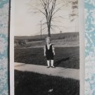 Cute Little Kid Wearing Mary Jane Shoes Vintage Photo