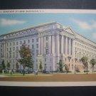 Department of Labor Building Washington DC Vtg Postcard