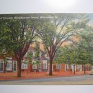 Duke of Gloucester Street Williamsburg VA Vtg Postcar