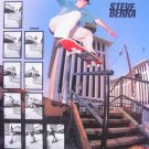 1992 Steve Berra Pro Tracker Skateboard Photo Print Ad
