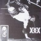 Vintage 1989 Dan Tag XXX SKATES 80s Skateboard Print Ad