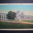 New National Museum Washington DC Vtg Linen Postcard
