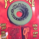 Santa Cruz OJII Freestyle Skateboard Wheel 80s Print Ad