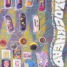 1990 BLOCKHEAD Skateboard Decks Wheels Photo Print Ad