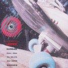 Vintage 1989 Lester Marbles Skateboard Wheels Print Ad