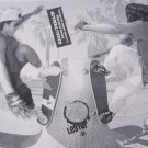 Lester Kasai Adrian Demain Tracker Skateboards Print Ad