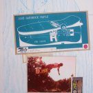 1988 ILLUSION SK8BOARDS Vintage 80s Skateboard Print Ad