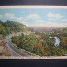 1940s Benson Valley KY Scenic View Vtg Linen Postcard