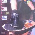 Vintage 80s Airwalk Prototype Skateboard Shoes Print Ad