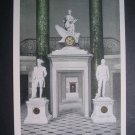 Franzoni Clock Statuary Hall US Capitol Vtg Postcard