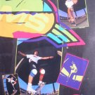 1989 Pierre Andre SIM SKATEBOARDS '80s Photo Print Ad