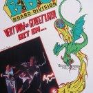 1989 BBC B.B.C. Skateboards Reese Simpson '80s Print Ad