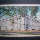 Department of Justice Building Washington DC Postcard