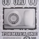 1991 Acme Formula One Skateboard Wheels '90s Print Ad