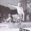 1991 Bryan Pennington Lifes A Beach Skategear Print Ad