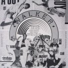 Vintage 1989 WALKER SKATEBOARDS Team Photo 80s Print Ad