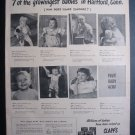 1945 CLAPPS BABY FOOD Cute Boys Girls Kids Pictures Ad