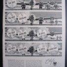 1945 ETHYL CORPORATION B-29 Bomber WWII Vtg Print Ad