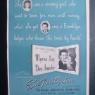 Myrna Loy Don Ameche SO GOES MY LOVE Movie Vtg Print ad