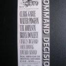 1949 COMMAND DECISION Clark Gable #Vintage 40s Print Ad