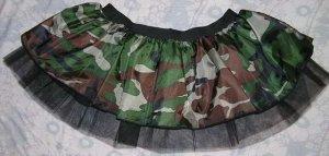 Tutu Skirt Fancy Army camouflage dance club disco punk