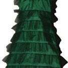 Green Fancy tree tutu type dress costume punk cyber rave disco club dance party