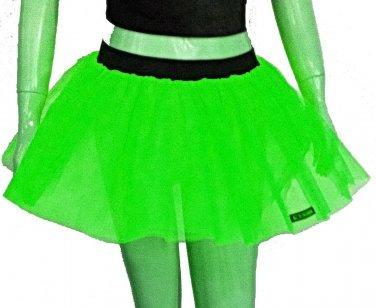 Neon Uv Green Tutu Skirt Petticoat Multi Layers Fancy Costumes Dress Dance Party Free Shipping