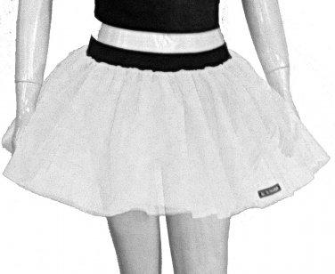 Neon Uv White Tutu Skirt Petticoat Multi Layers Fancy Costumes Dress Dance Party Free Shipping