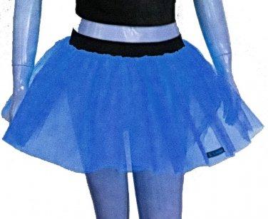 Blue Tutu Skirt Petticoat Multi Layers Non Neon Fancy Costumes Dress Dance Party Free Shipping