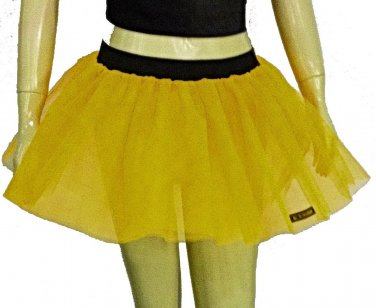 Yellow Tutu Skirt Petticoat Multi Layers Non Neon Fancy Costumes Dress Dance Party Free Shipping