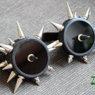 Cyber Goth Goggles Glasses 26 Spikes Punk Industrial Noise Dark Wave Steampunk 66