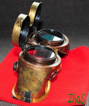 Steampunk Cosplay Anime Cyber Goggles 93